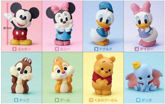 日本, DISNEY, 迪士尼, 食玩, 肥嘟嘟