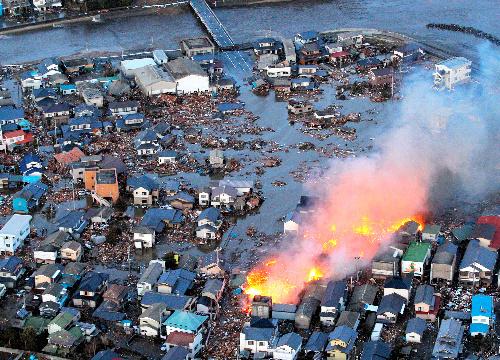 東日本大震災 津波火災 に対する画像結果