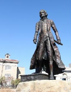Statue of Thomas Jefferson, Jeffersonville, Indiana