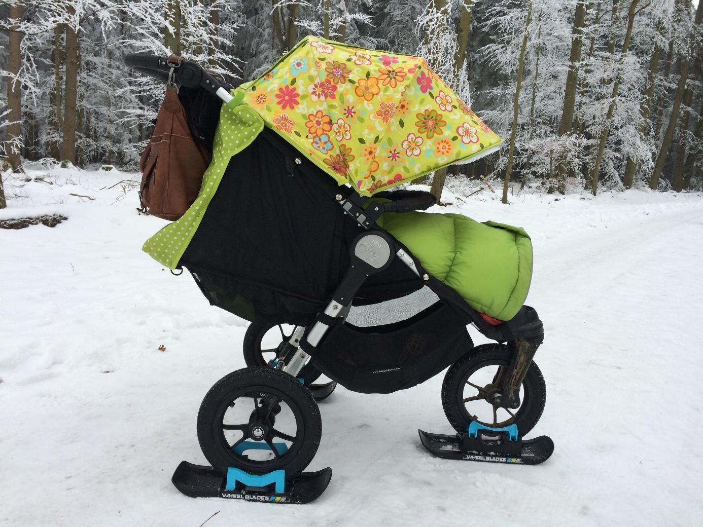 Kinderwagen mit Wheelblades
