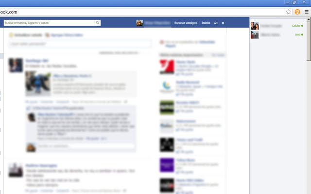 Facebook Chat: Show online friends only chrome extension