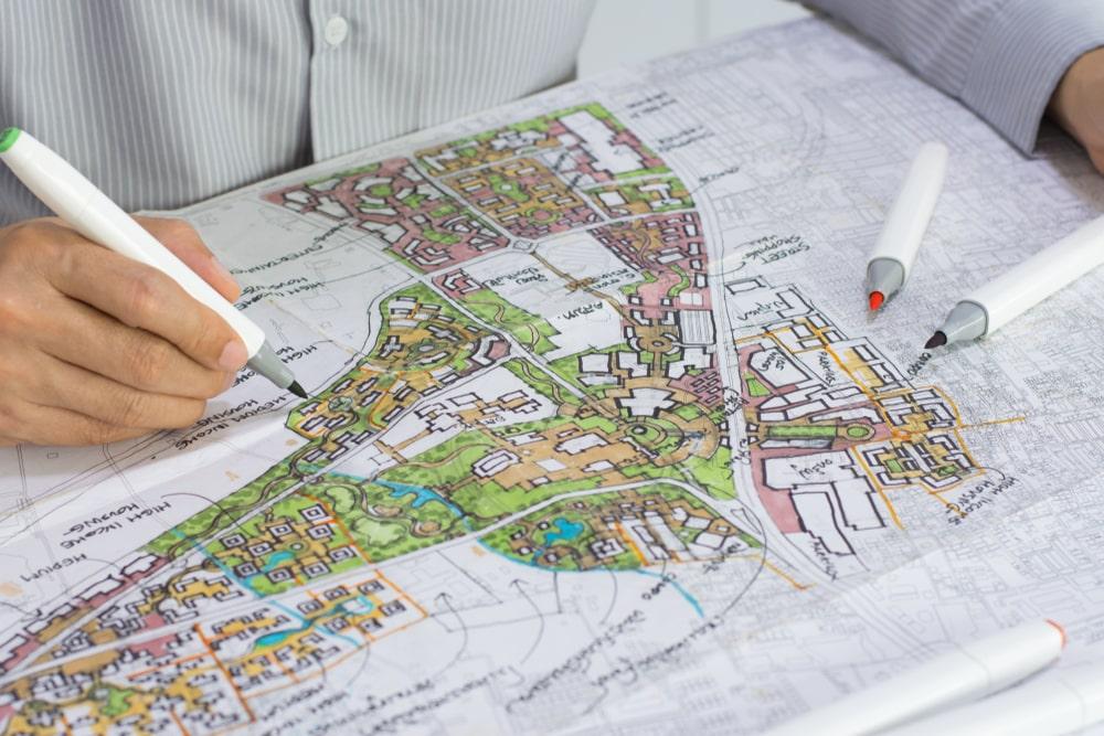 Muitas cidades brasileiras ainda não possuem um Plano Diretor Municipal. (Fonte: Shutterstock)