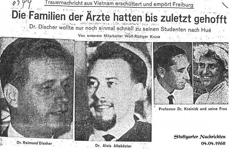 Các Vị Giáo Sư Đức Quốc - Hội Cựu Sinh Viên Viện Đại Học Đà Lạt