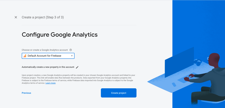 Configure Google Analytics for Firebase