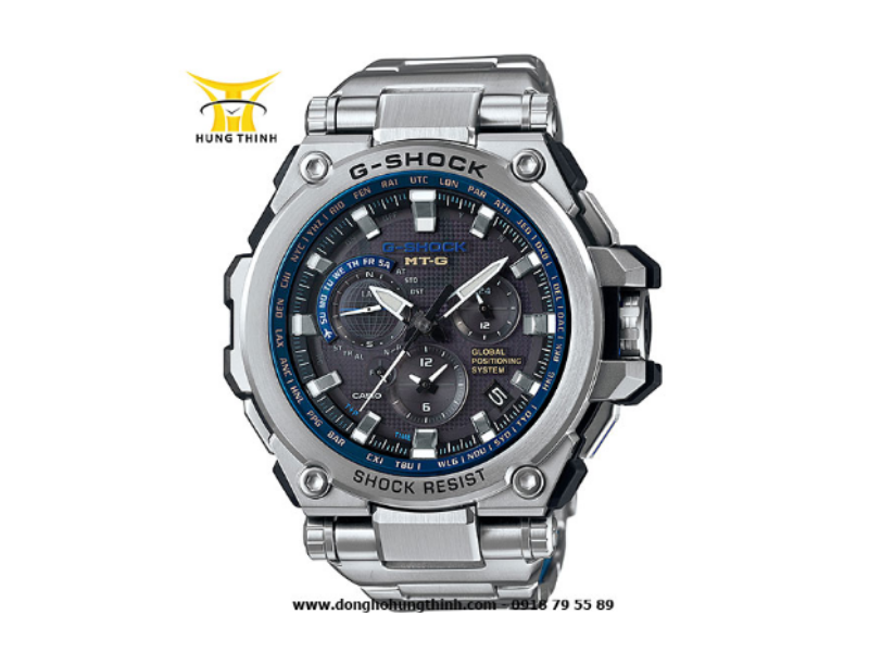 Đồng hồ G-SHOCK có độ chống nước 20BAR, chịu được tác động của ba lực: lực rơi tự do, trọng lực ly tâm và lực rung