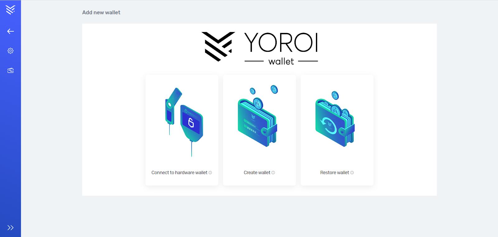 Setting up Yoroi using Ledger Nano