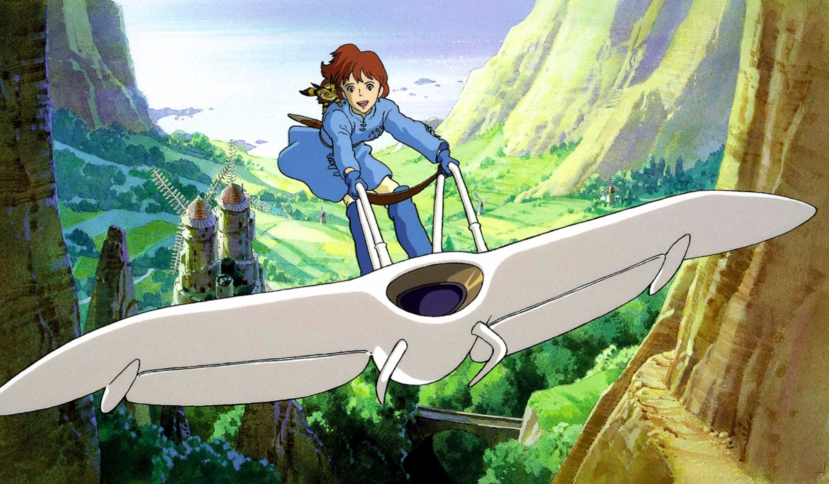 Young princess Nausicaä of the valley of the wind.