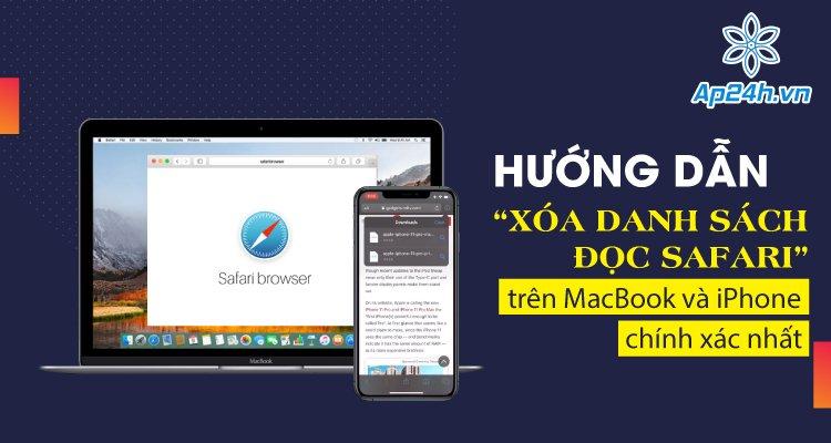 xóa danh sách đọc Safari trên MacBook
