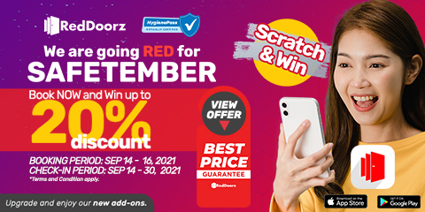 Win up to 20% discount voucher by playing Scratch & Win
