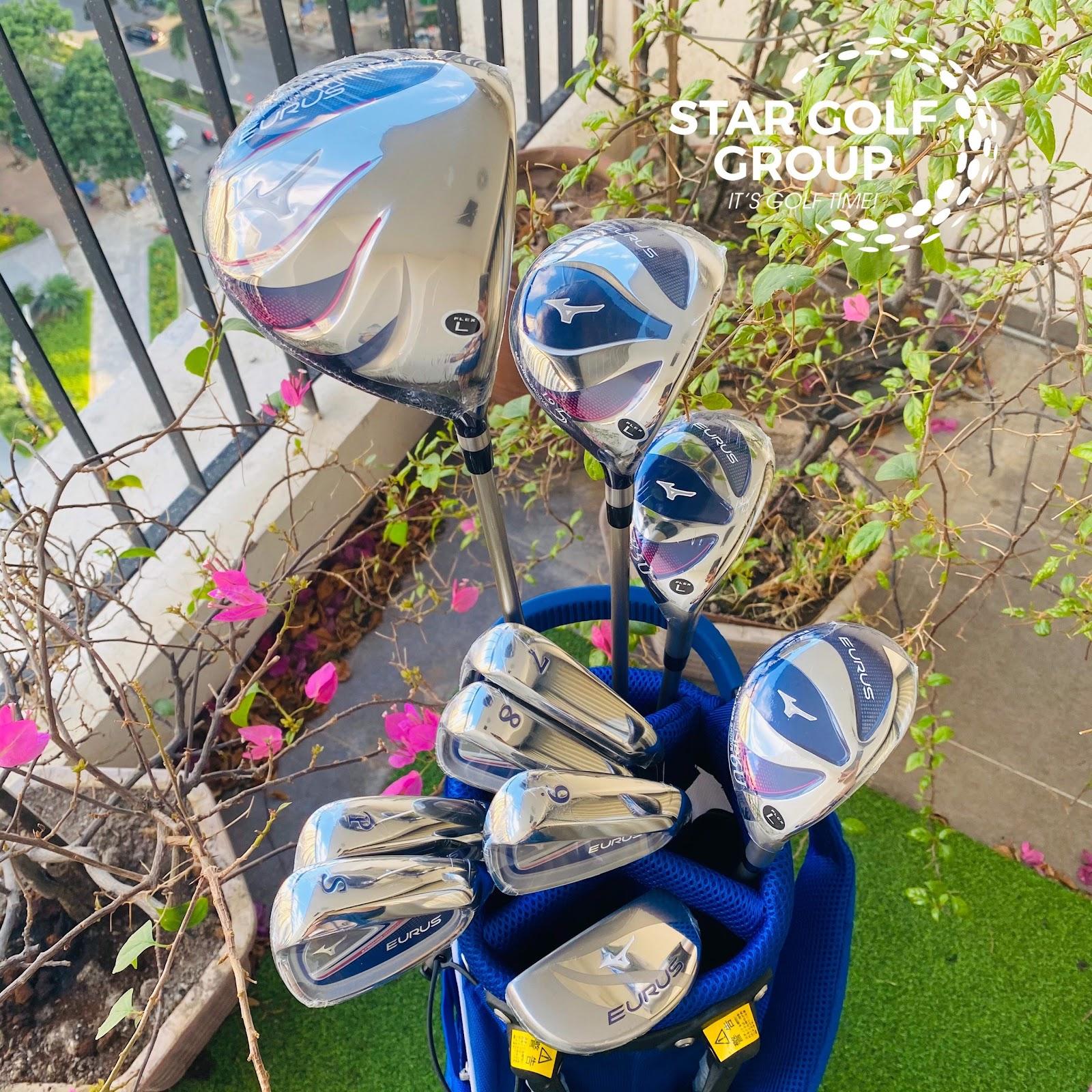 Bộ gậy golf Mizuno Eurus Ladies Exsar 2020