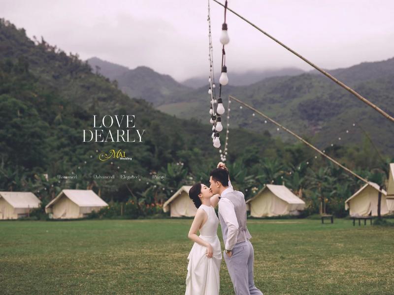 Chụp ảnh cưới tại Thung Lũng Yên Retreat