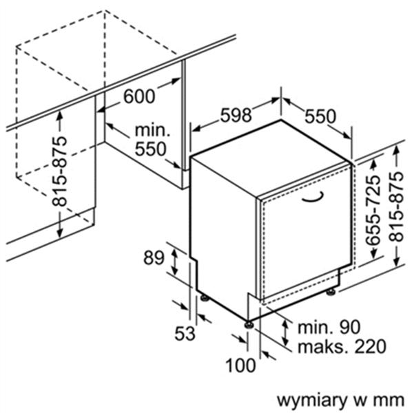 Máy Rửa Bát Bosch SMV46KX00E