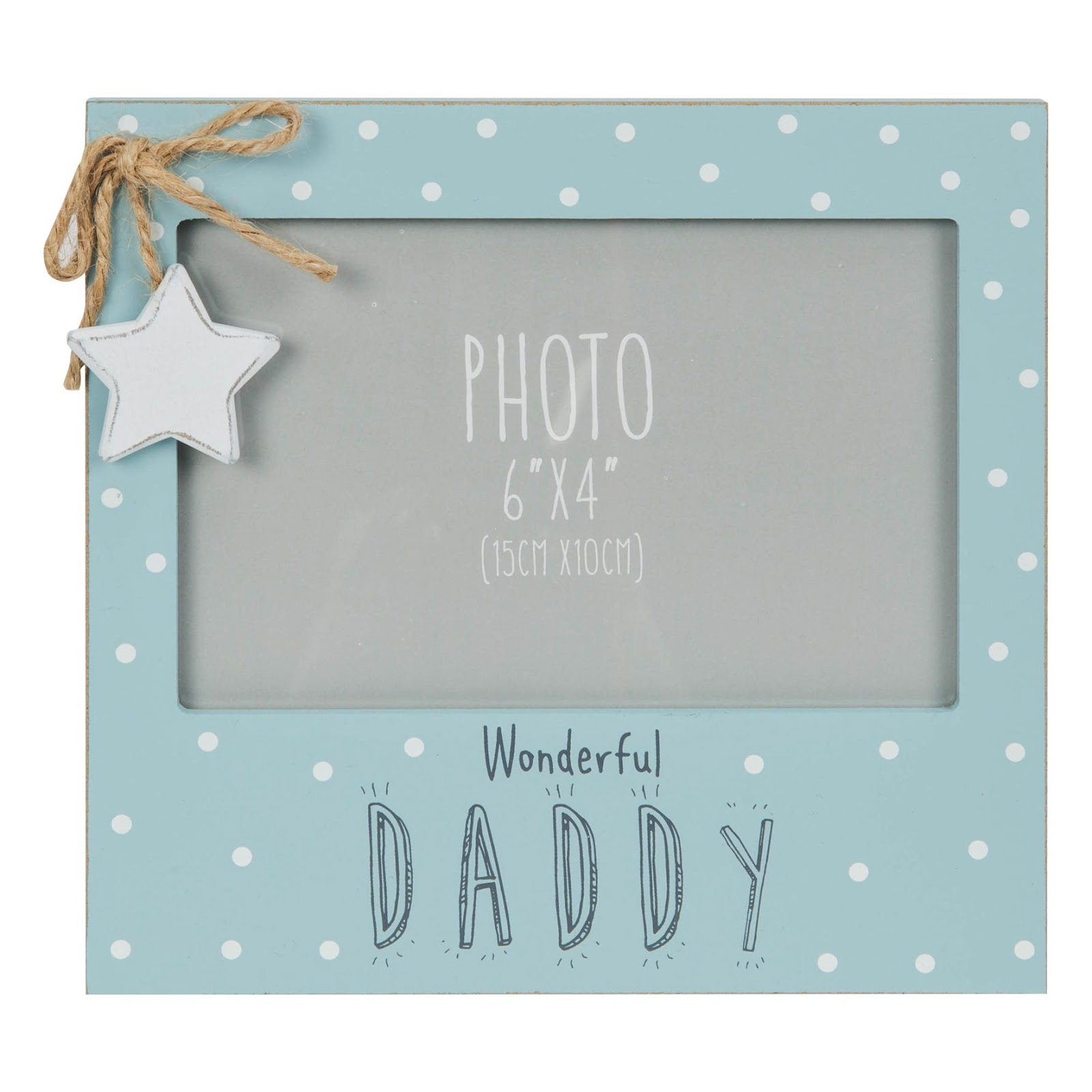 Fathers day photo frame gift