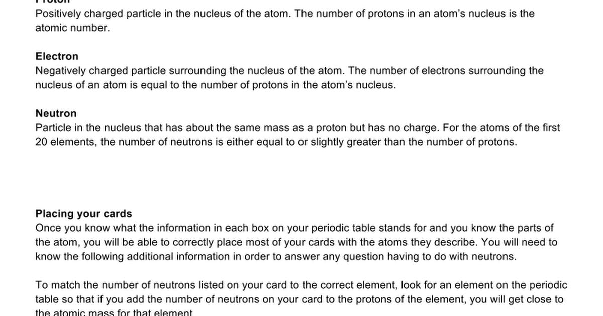 Atoms and pt lesson 2 google docs urtaz Images