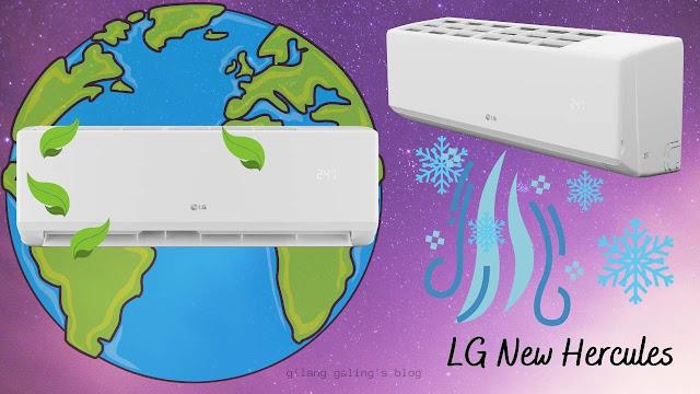LG New Hercules Ramah Lingkungan dan Ada Fitur Turbo Cooling