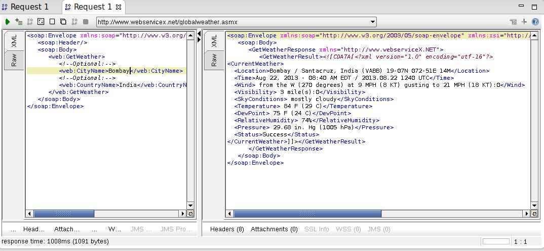 Sai Raghava Katepally: Consuming a Web Service in Java