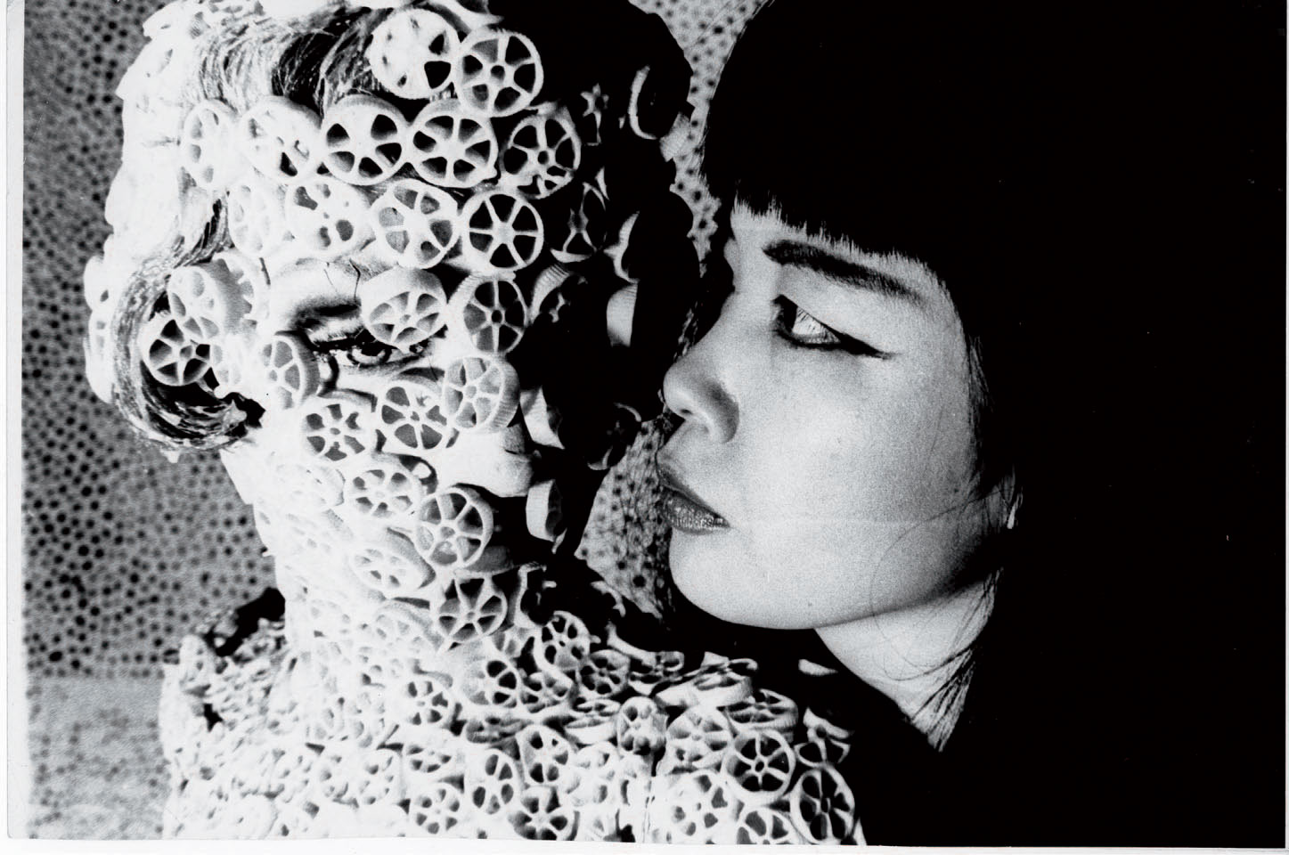 1968 Yayoi Kusama with Macaroni Girl.jpg