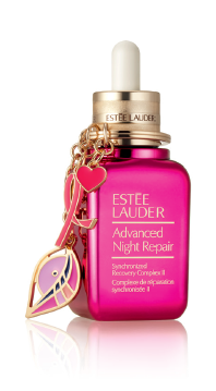 Estée Lauder Pink Ribbon Products - Estée Lauder Limited-Edition Advanced Night Repair Synchronized Recovery Complex II with Pink Ribbon Keychain  ~ #BreastCancerAwarnessMonth