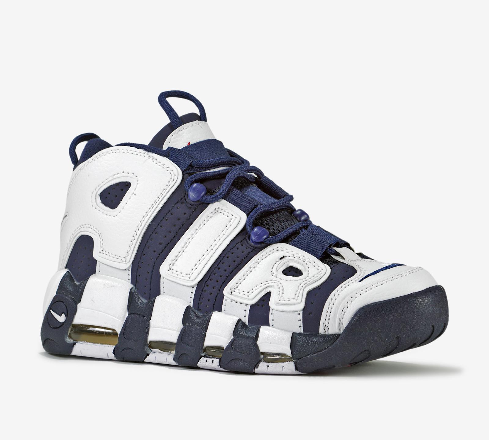 Giày bóng rổ lên ngôi  Air uptempo