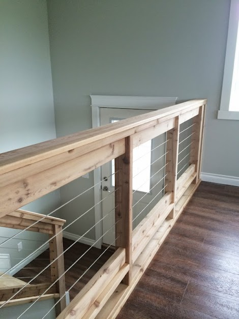 Stainless Steel Cable And Wood Railing Ana White