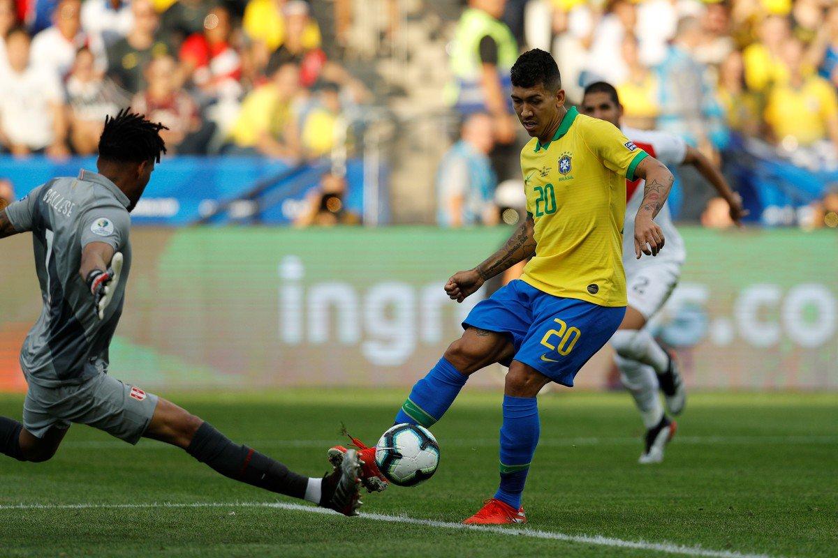 Бразилия - фаворит в группе А в Кубке Америки
