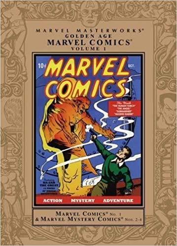 Image result for o Marvel Masterworks - Golden Age Marvel Comics Volume 1
