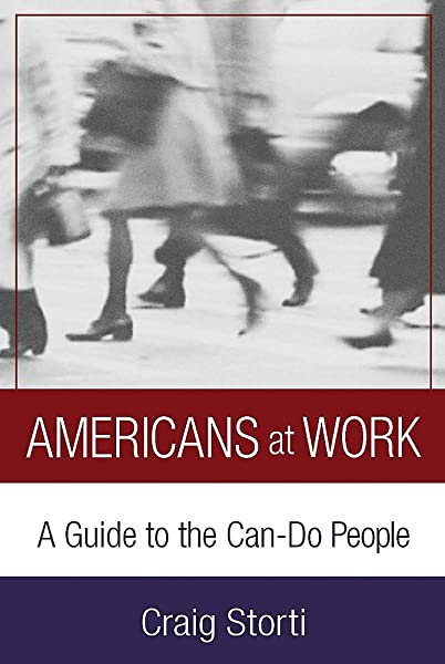 """""""Americans at Work"""" book cover"""