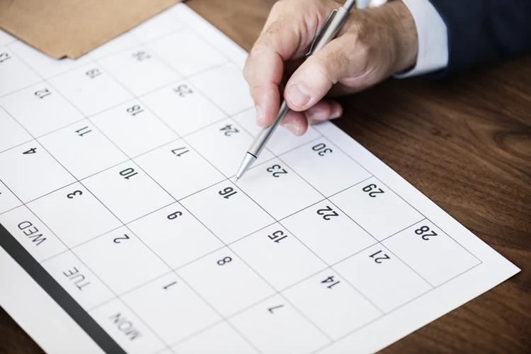 Wise Business Loans - Calendar