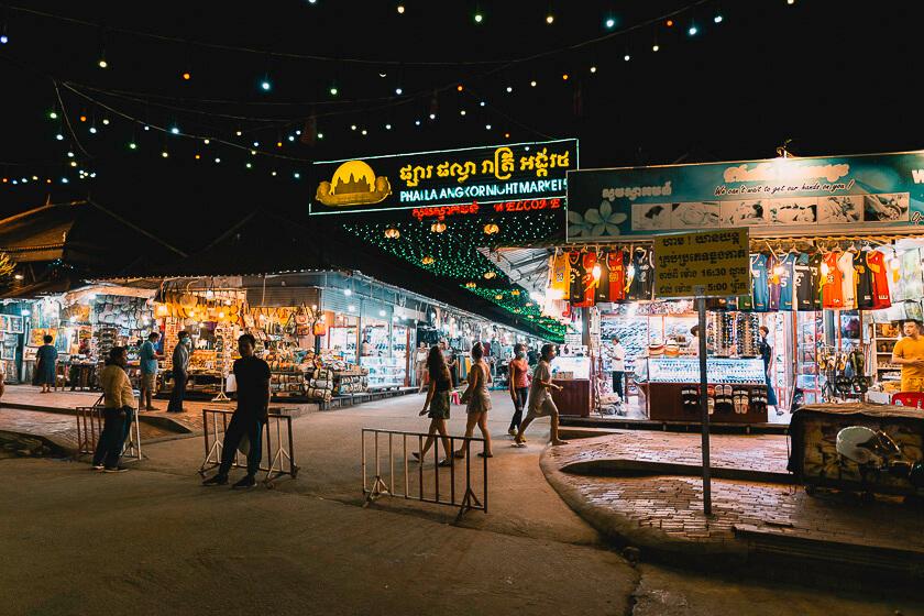 Siem Reap Night Market.