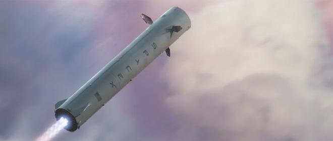 Phần động cơ đẩy của quả tên lửa sẽ rời khỏi nó và quay về Trái Đất