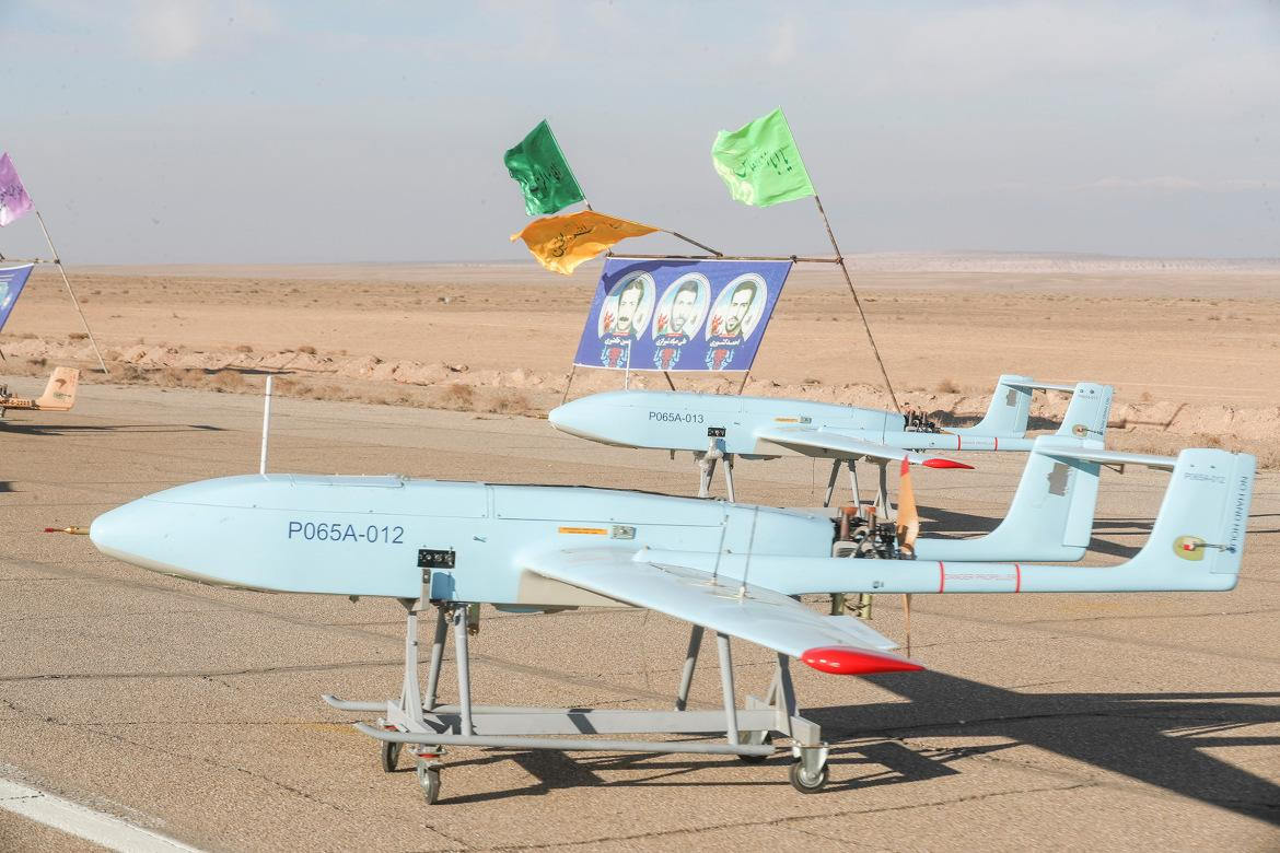 In Pictures: Iran's military holds first-ever drone drill ...