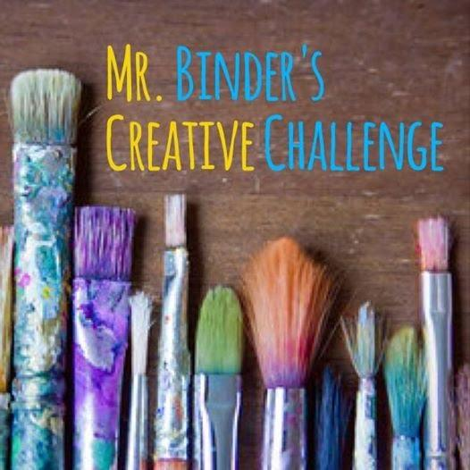 "Photo: Mr. Binder's Creative Challenge!  Encourage students to enter ""Mr. Binder's Creative Challenge..."" a friendly, whole-school competition to promote school spirit and unity. Here is the challenge: Students (any grade, PK-12), are to ""create"" a representation (can be a painting, drawing, collage...any artistic interpretation) that adheres to the theme :   WILLIAMSFIELD SCHOOLS:  ONE SCHOOL, ONE HOME, ONE FAMILY.    Entries must be no smaller than 8 x 10.   Entries must be submitted to the Principal's Office by Monday, September 22nd.   This challenge requires students to use creativity (think outside the box!) to represent our school in the best possible light.   Entries will be judged based on creativity, individuality, artistry, and most importantly, representation of theme.  1st Prize Winners will receive: $20 ""Billbucks"" to the Billtown Café (good for any lunch, ala carte, or concession item) Unveiling/Display in Principal's Office Published in The Weekly Post, Billtown Webpage & Facebook.  2nd Prize Winners will receive:  $10 ""Billbucks"" to the Billtown Café  (as well as all of the above).  Students will also be recognized at the next assembly.  All entries will be displayed throughout our building for students, staff and families to see.  Don't let age or experience hold you back...everyone is creative. This contest is about the strengths, talents and unique qualities that our school HOME.  So what are you waiting for? Start CREATING!"