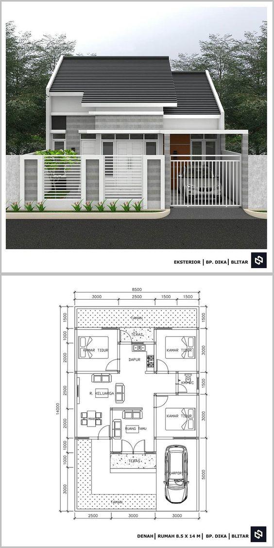 12 Inspirasi Rumah Minimalis Modern Terbaru Yang Nggak Nguras Kantong Mustika Land