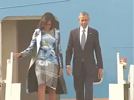 LIVE ओबामा: आ गए ओबामा, मोदी ने खुद किया स्वागत--->>>http://goo.gl/Ouvr2U