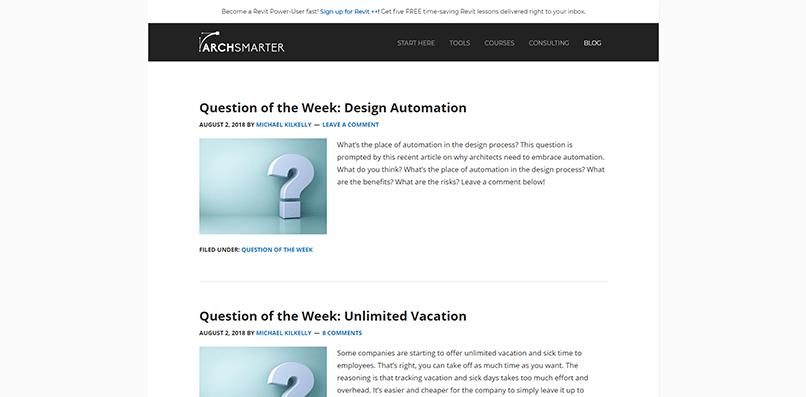 Arch Smarter's blog