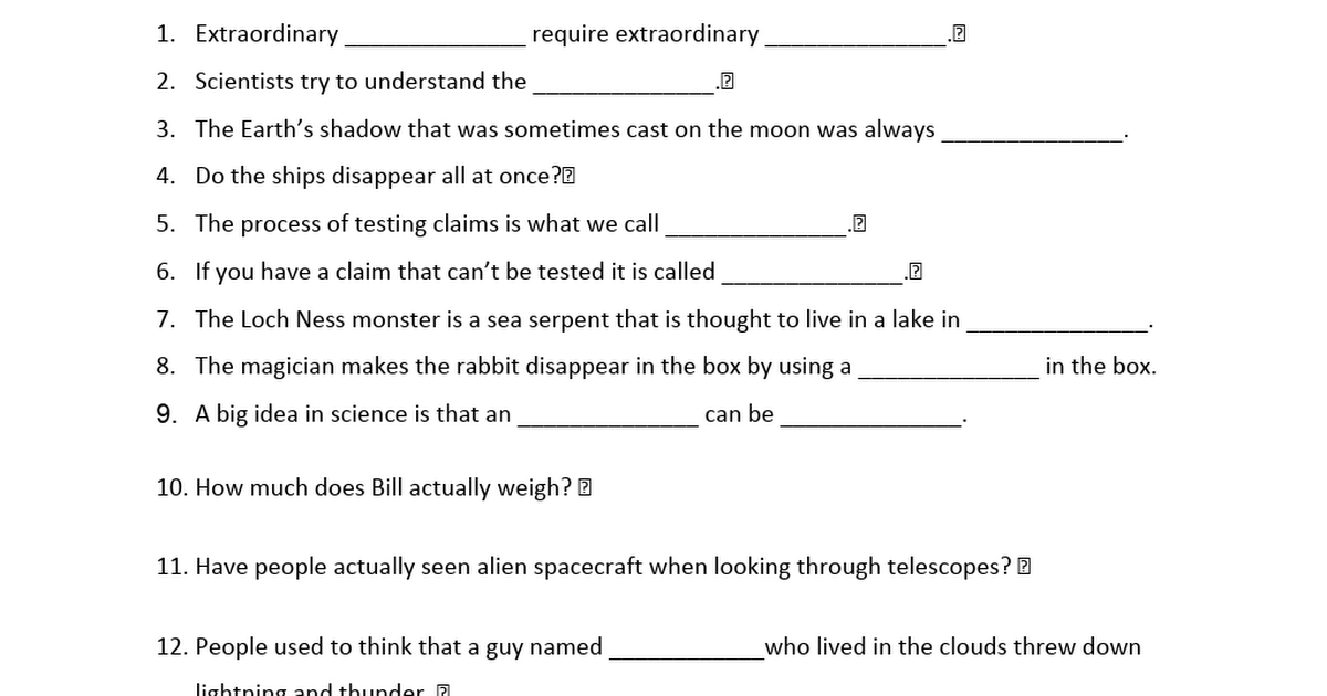 bill nye worksheets moon - 1200×630