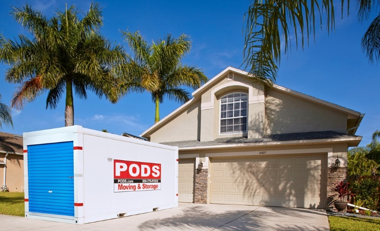 Hawaii moving with PODS portable container