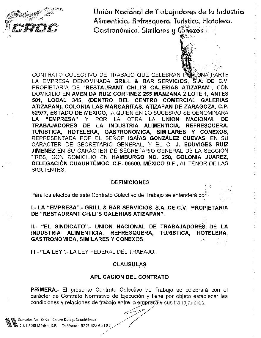 Ejemplos de contrato individual de trabajo tattoo design for Contrato trabajo