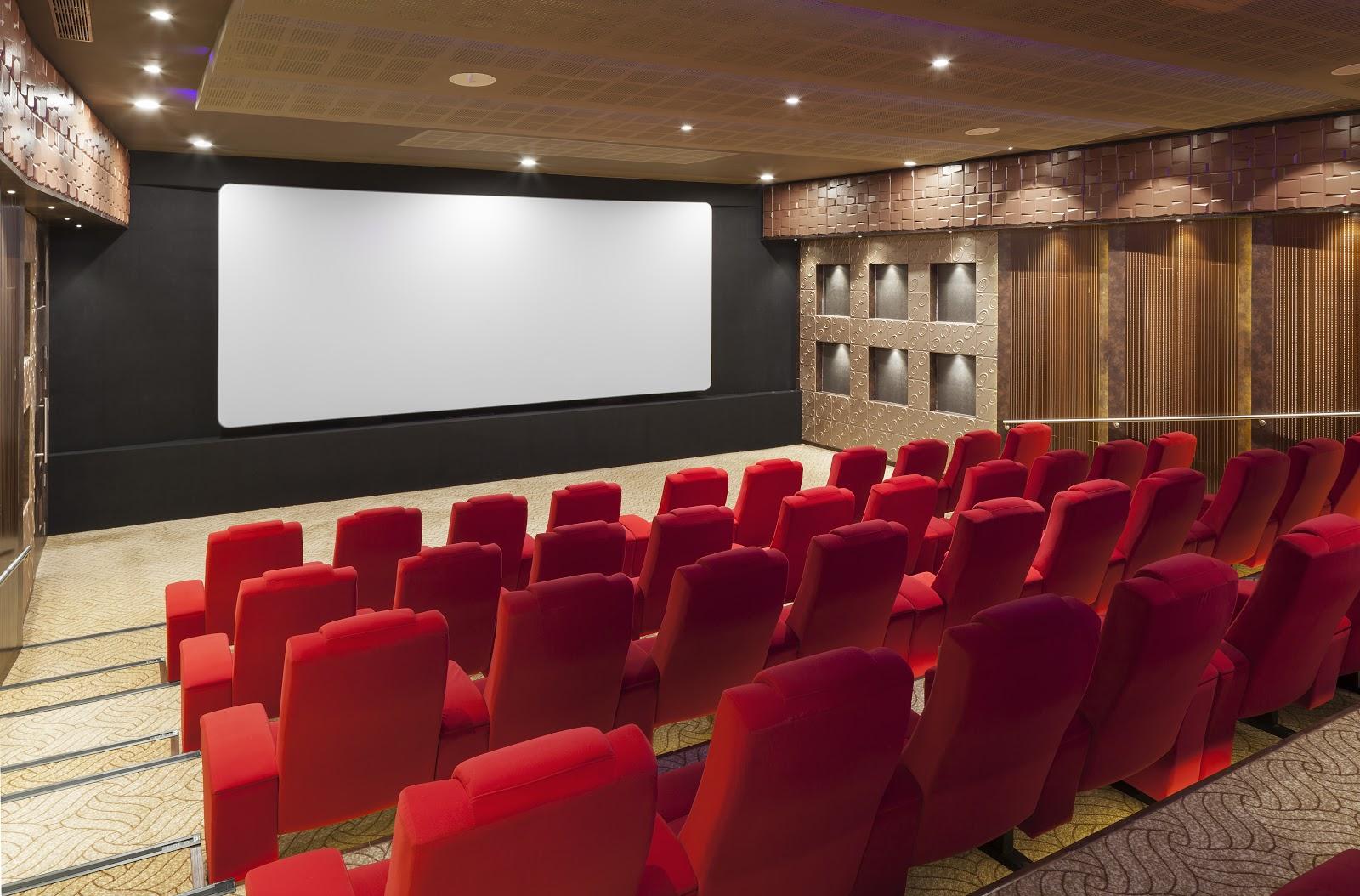 A 90 seater Cinema theatre at Nana Nani Homes
