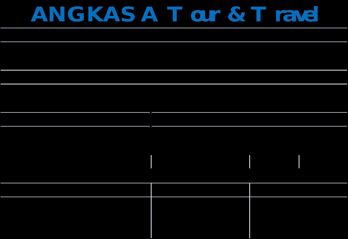 Tugas Myob Angkasa Tour Travel