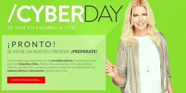 cyber day falabella análisis