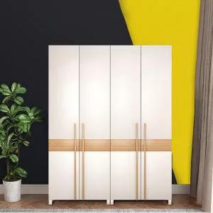 Tủ đựng quần áo gia đình gỗ công nghiệp hiện đại GHS-5691