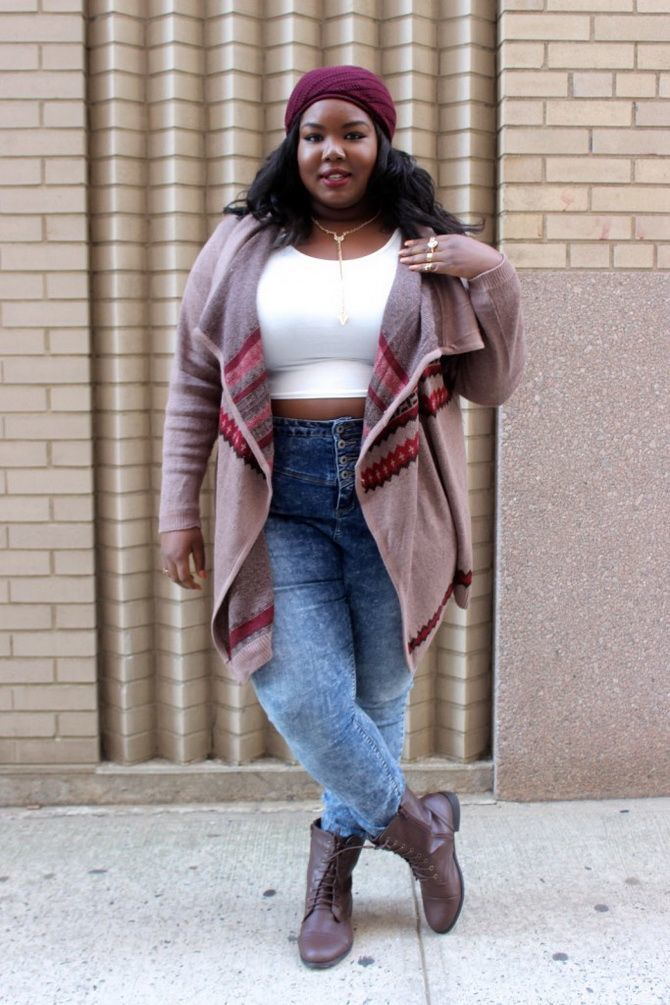 Plus-size fashion: best ideas for trendy outfits 2020 19
