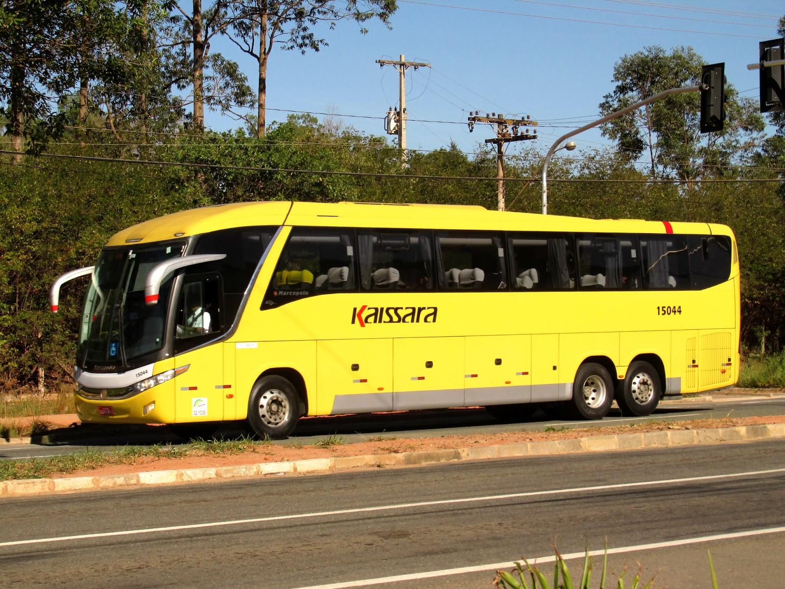 Ônibus leito da viação Kaissara