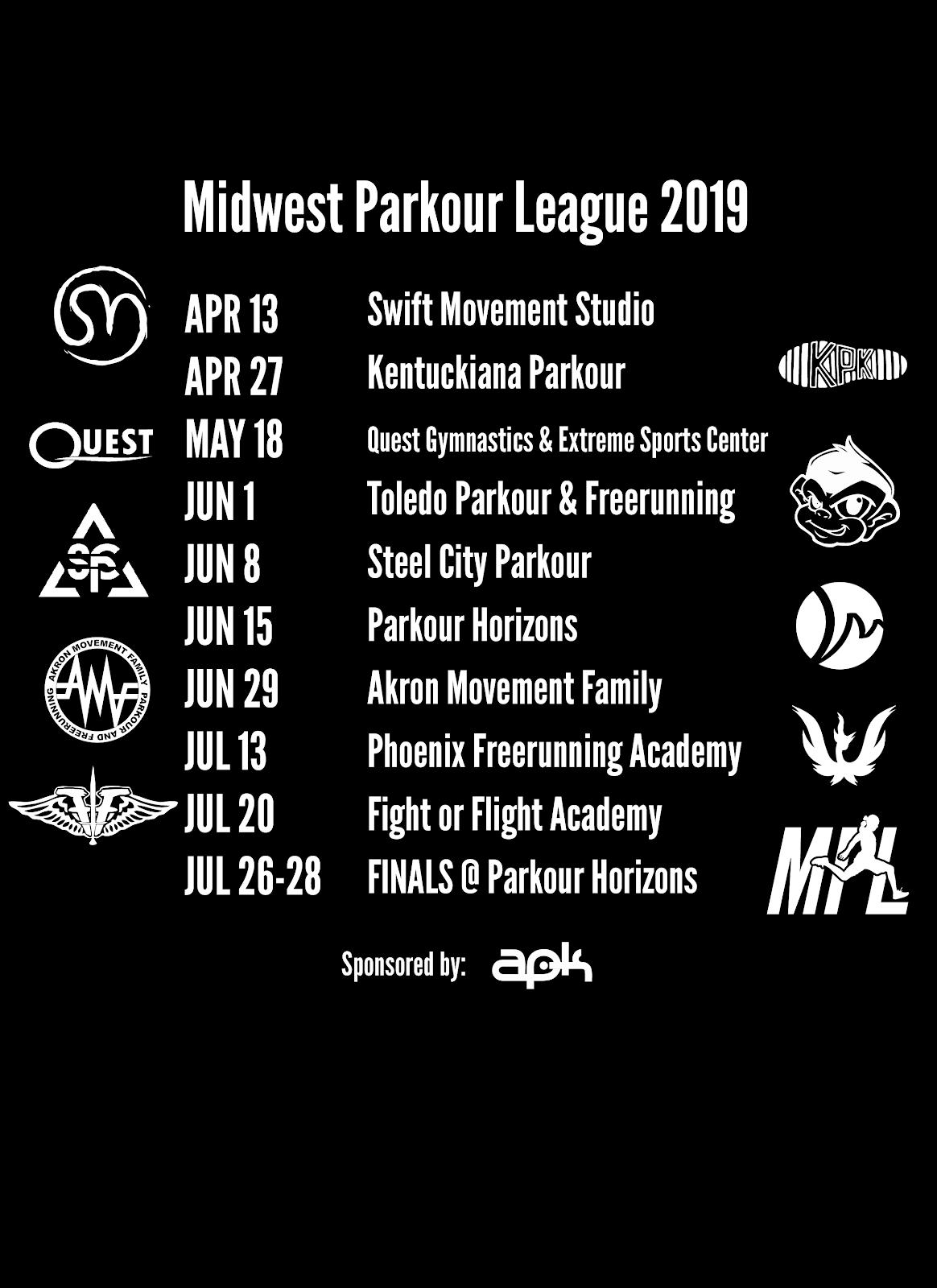 The Midwest Parkour League kicks off at Swift Movement