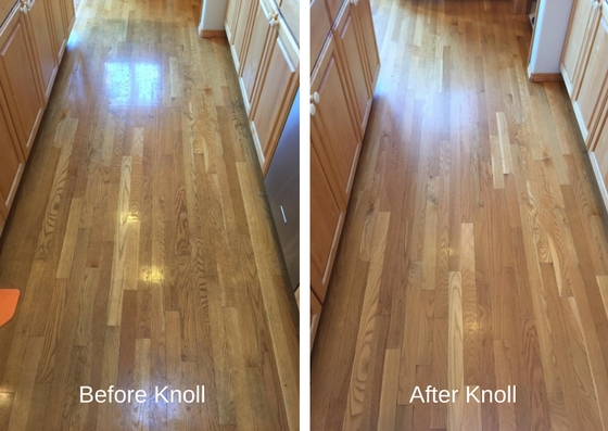 before and after, hardwood floor cleaning, Hammond Knoll