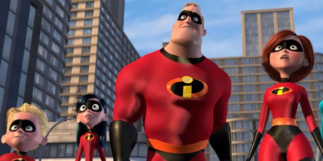 Funny cartoons: The Incredibles