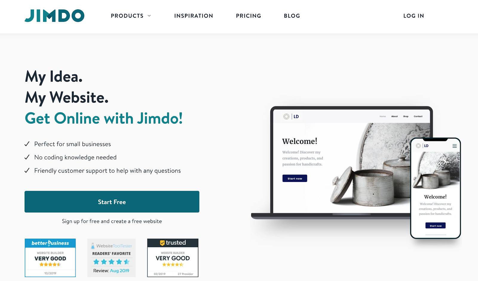 Jimdo: another powerful alternative to Squarespace