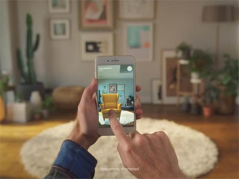 IKEA ứng dụng thành công AR trong kinh doanh nội thất