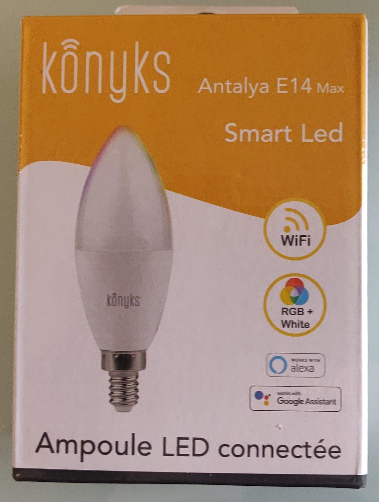 Ampoule connectée Konyks